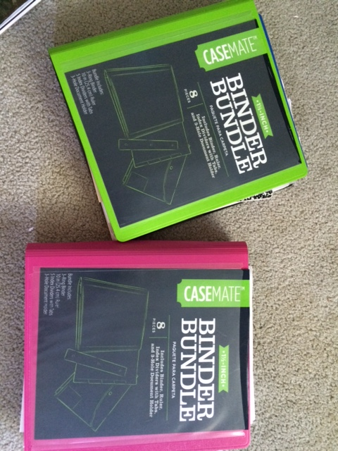 binder bundle